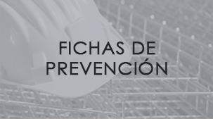 Fichas de prevención